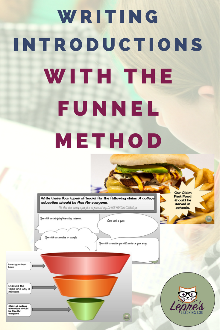 Writing introductions with the funnel method | Writing