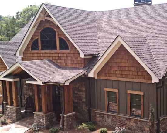 Traditional exterior luxury mountain homes design pictures remodel decor and ideas page 16 Exterior board and batten spacing