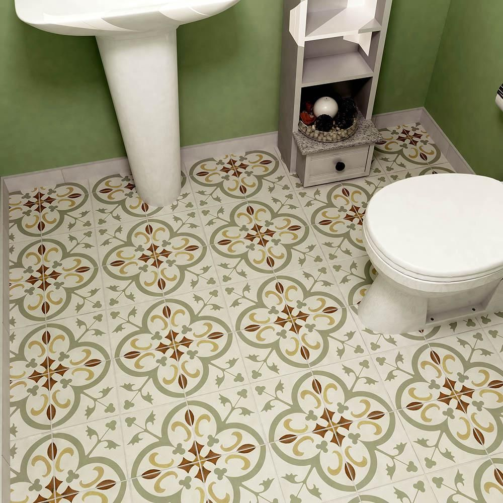 Merola Tile Revival Memory 7 3 4 In X 7 3 4 In Ceramic Floor and