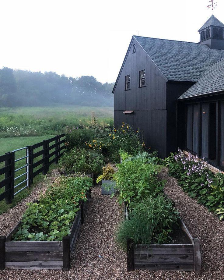 дизайн огорода частный дом в деревне фото сегодня заказ