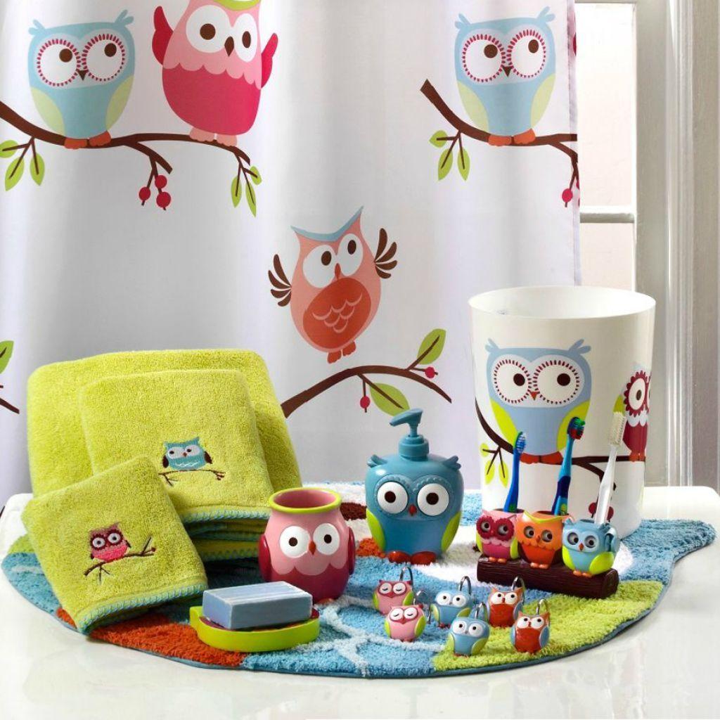 Bathroom Cute With Owl Decor Ideas Bath Sets Themed