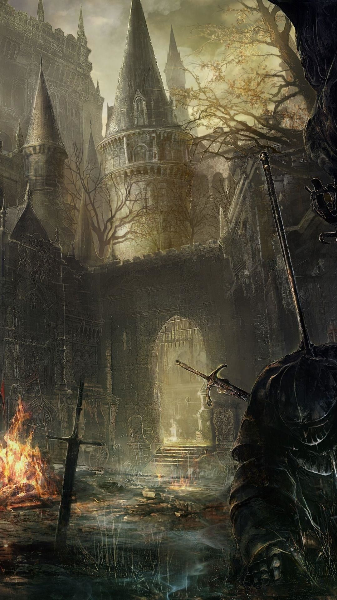 RANDOM PHONE WALLPAPER Dark souls, Of wallpaper, Papel