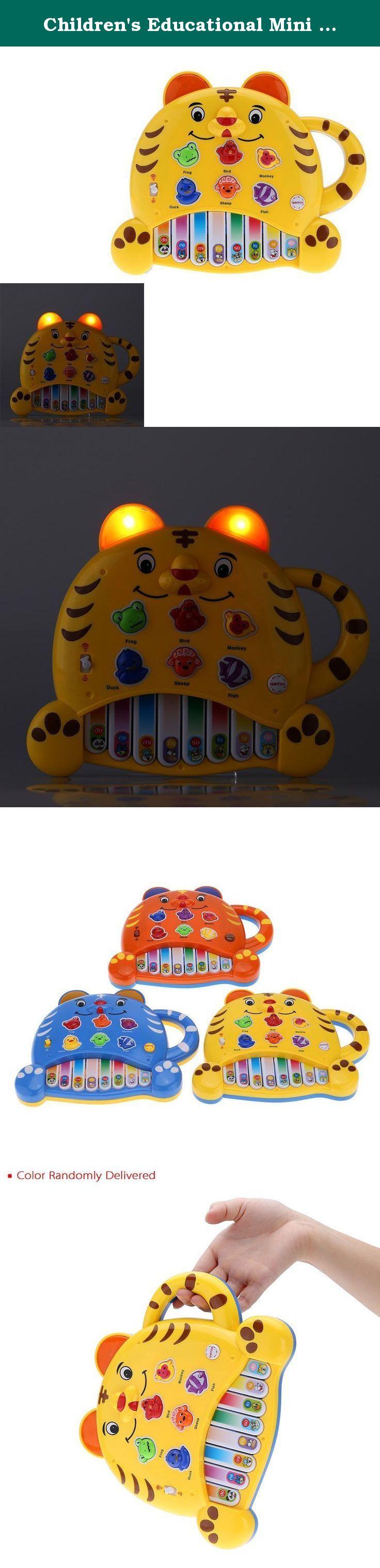 Baby toys images cartoon  Childrenus Educational Mini Piano Children Gift Baby Electone Music
