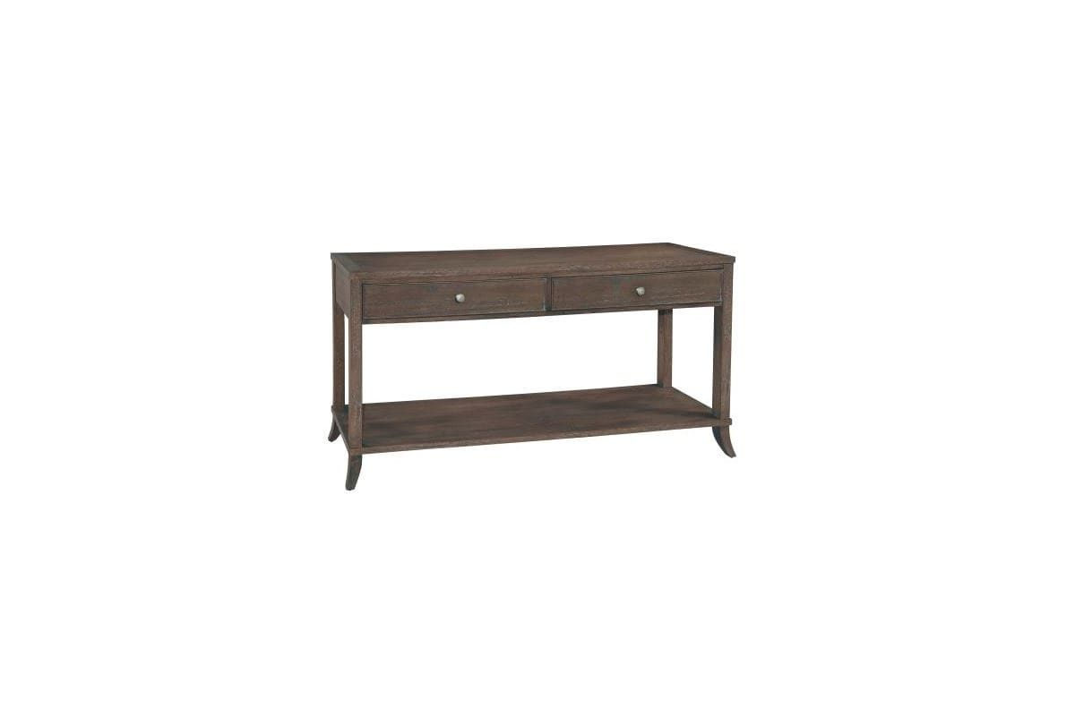 Hekman 952208 Urban Retreat 65 Inch Wide Wood Sofa Table With Lower