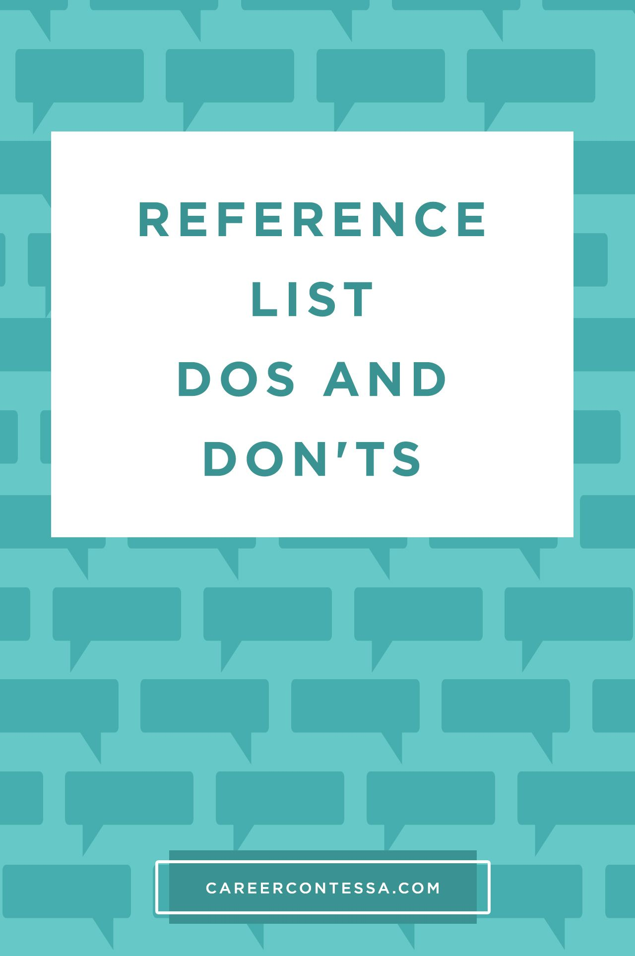 Here\'s How to Use Your References to Land Any Job | Tipps
