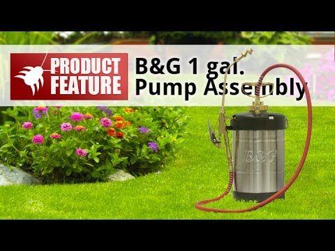 B G Sprayer Hand Pump Assembly Hand Pump Sprayers Pest Control