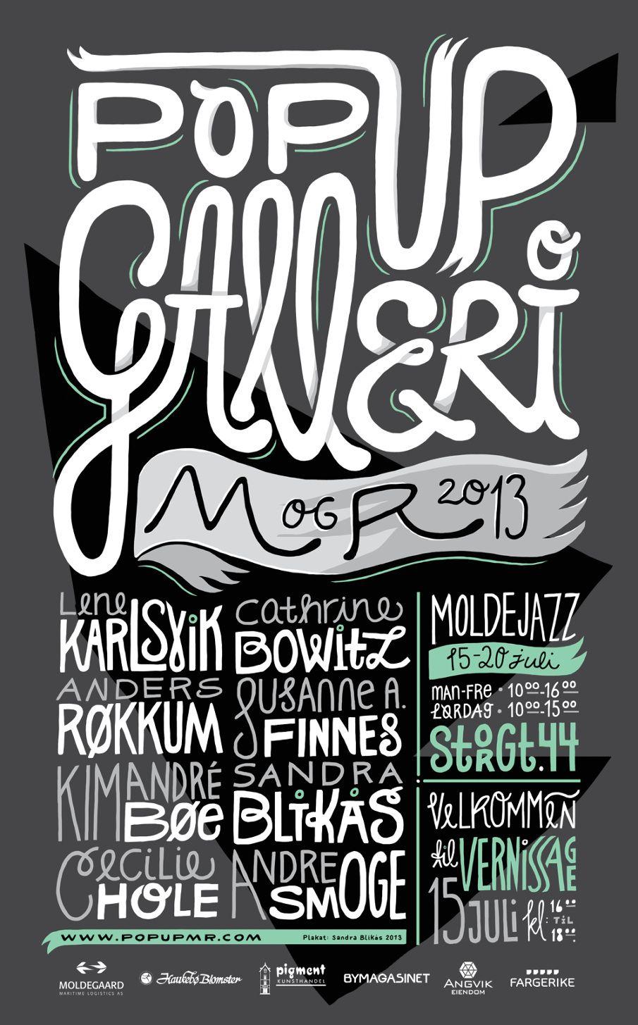 POP UP GALLERI 2013 - Sandra Blikas