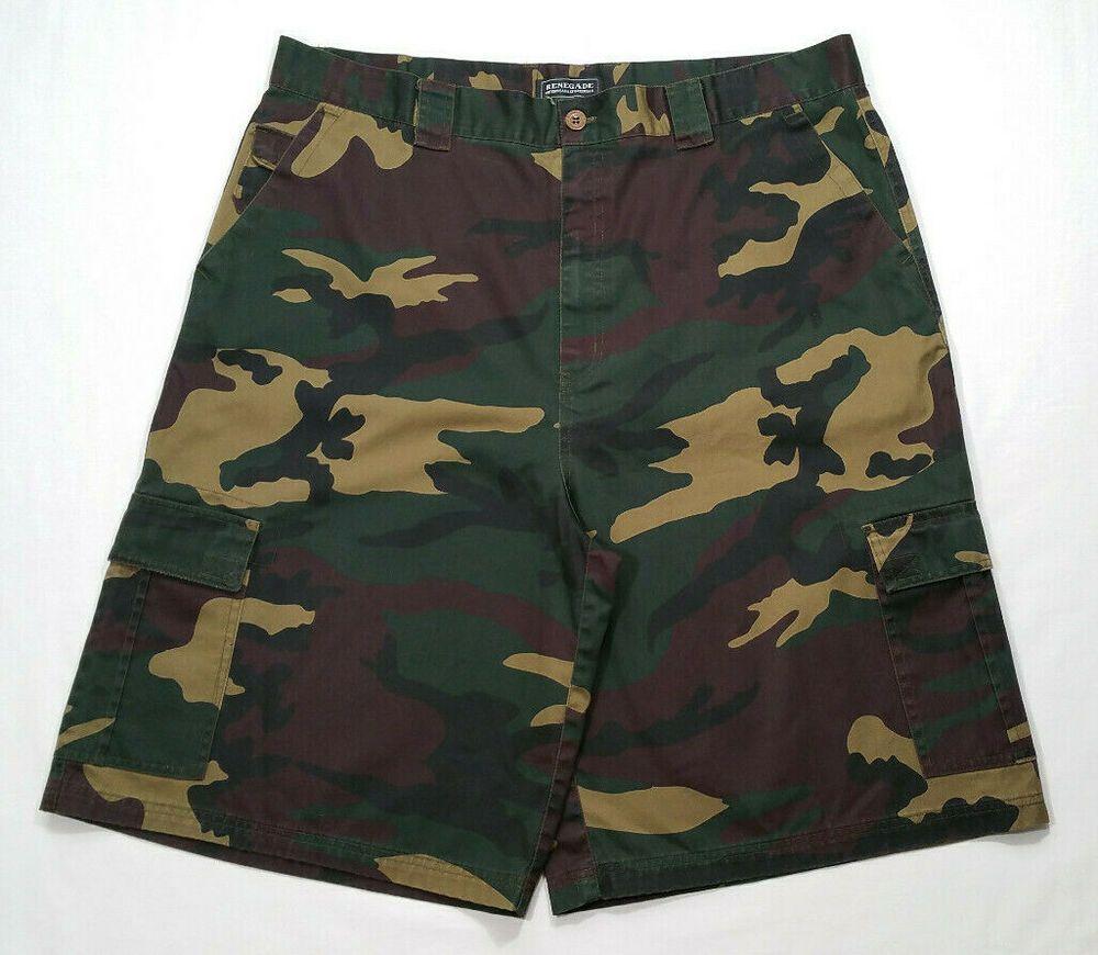 Renegade Outerwear Sportswear Men Size W 42 Cargo Shorts Camouflage Pockets Renegade Cargo Casual Mens Sportswear Cargo Shorts Jag Jeans Woman [ 870 x 1000 Pixel ]