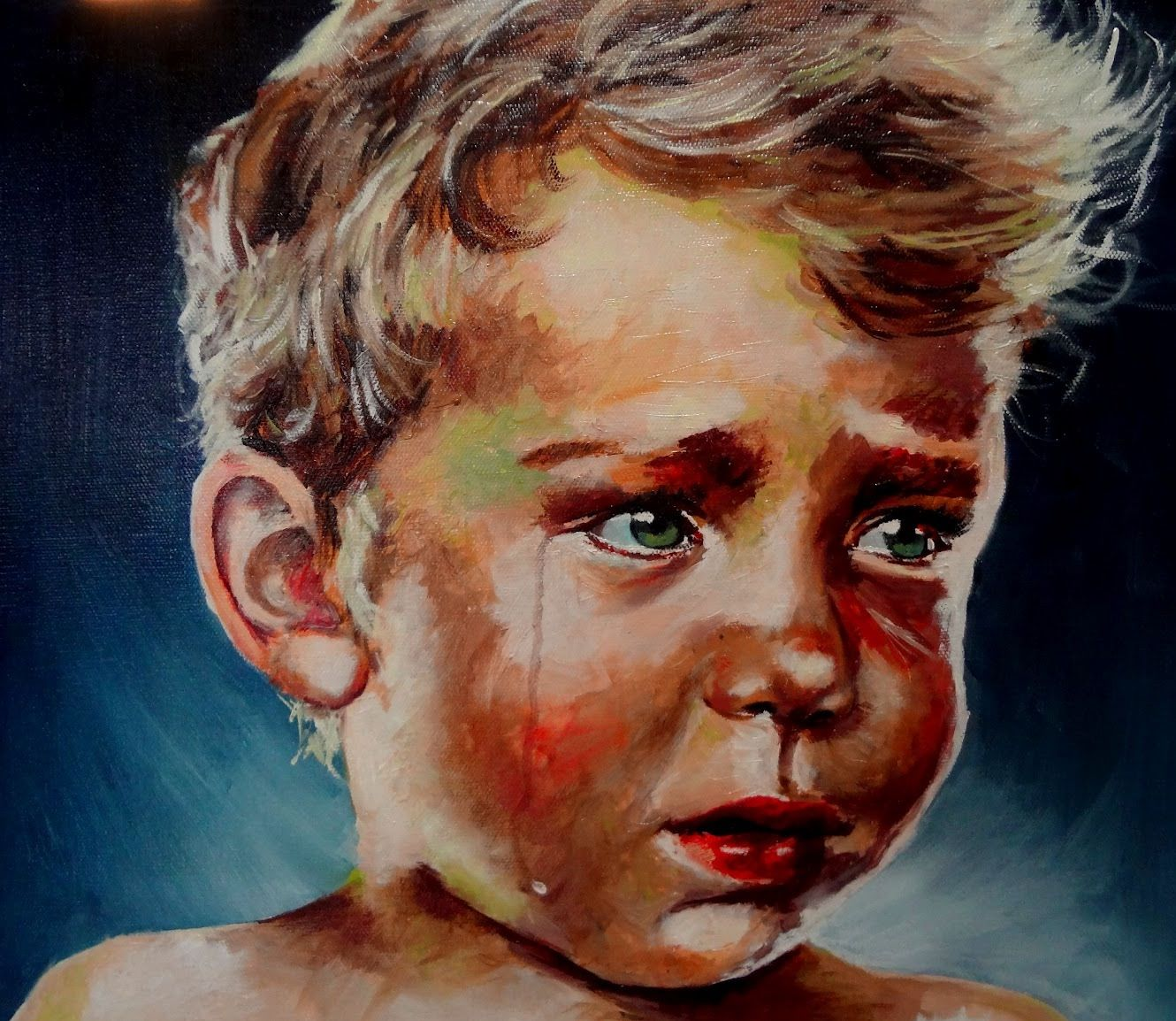 Famous Crying Painting