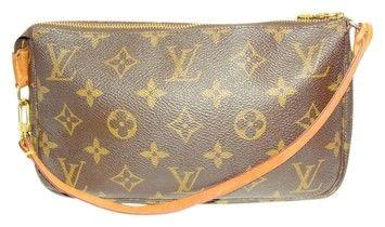 Louis Vuitton Pochette Vintage Handbag Monogram Baguette 62 Off Retail Louis Vuitton Louis Vuitton Pochette Vintage Handbags