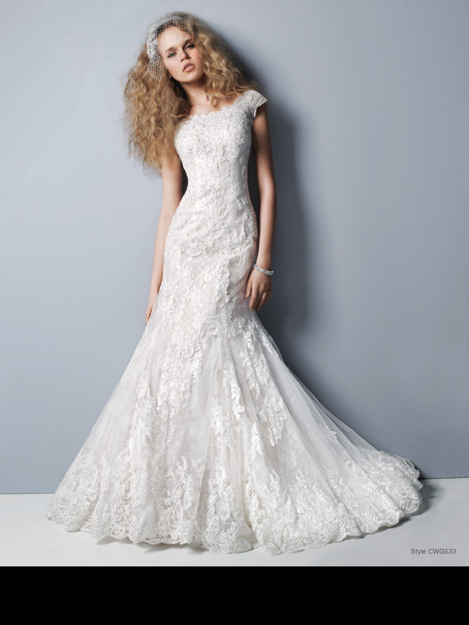 Lace wedding dress | Vintage Wedding | Pinterest | Modest wedding ...