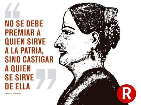 Josefa Ortiz de Domínguez.