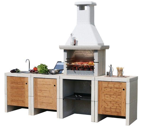 cucine da terrazzo - Cerca con Google | Barbecue e cucine outdoor ...