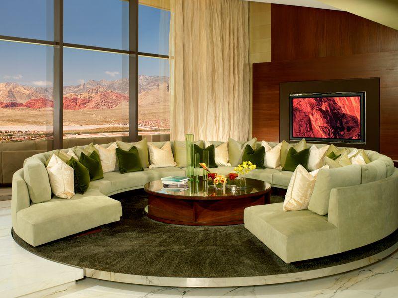 Las Vegas Luxury Suites - The Canyon Suite - Red Rock ...