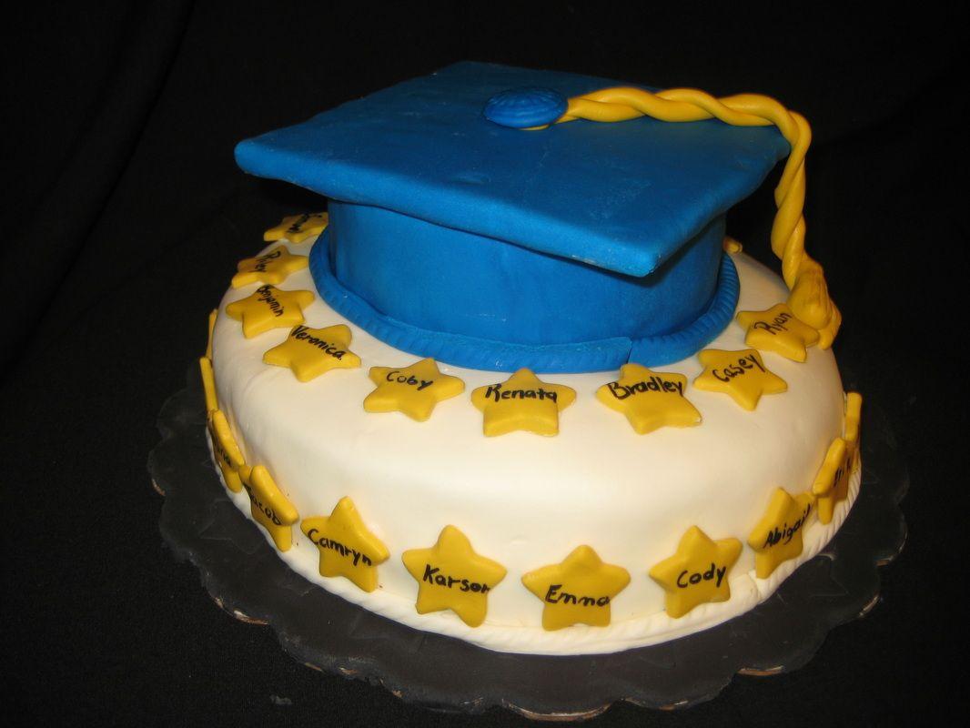 Graduation cake.  www.odetojoyandflavor.com