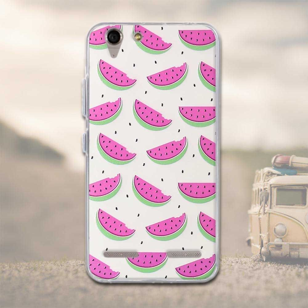 Phone Cases For Lenovo Vibe K5 Covers Plus Lemon 3 A6020 Bags Soft Tpu Silicon Flowers Case A 6020