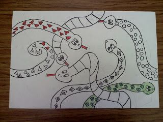 Finding My Marbles: Slithering Serpents!