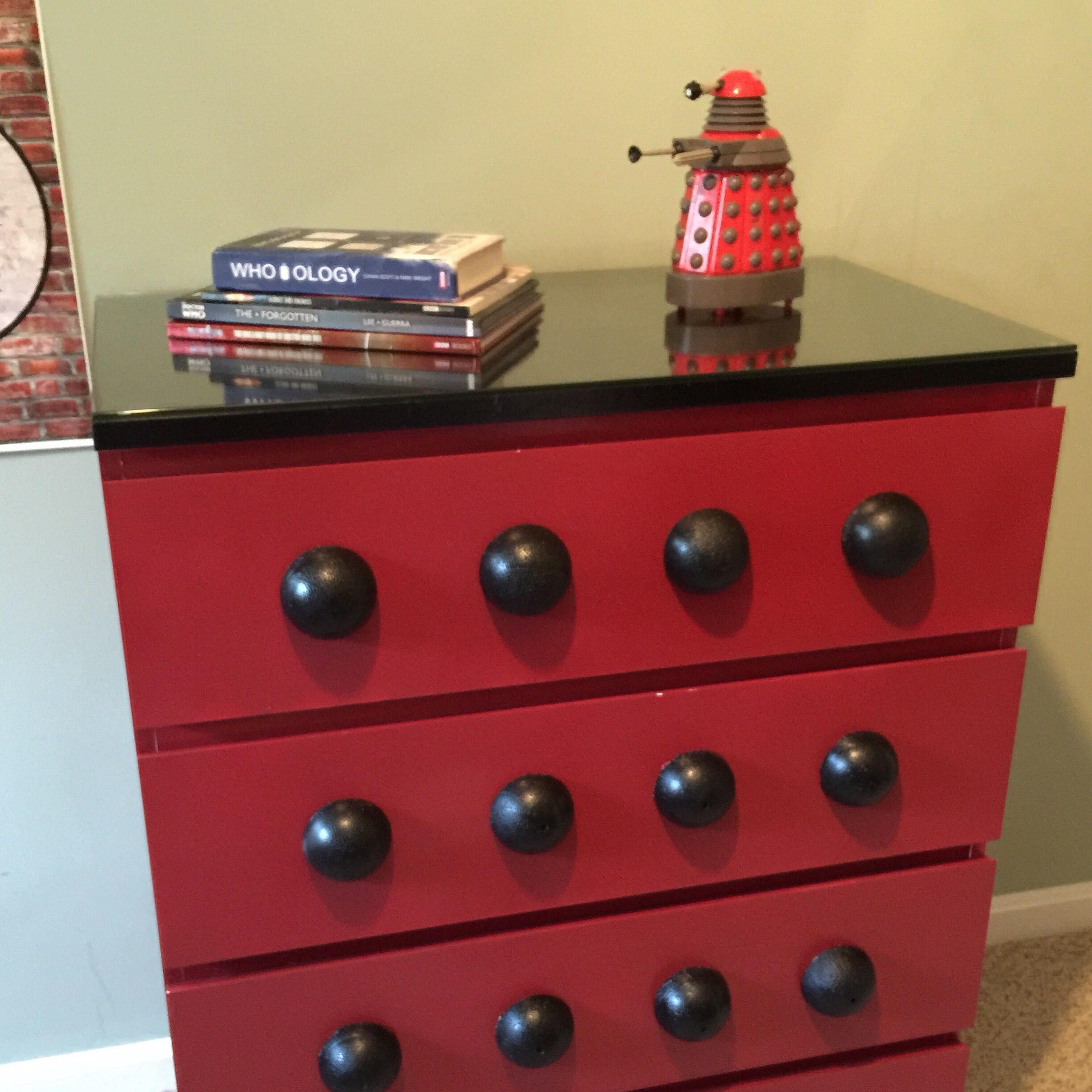 Dalek Dresser, What A Cute Ideas