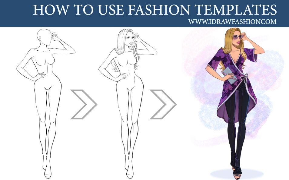 I Draw Fashion Fashion Drawing Templates Tutorials Fashion Illustrations Techniques Fashion Illustration Fashion Templates