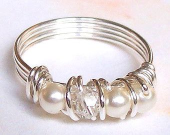 TUTORIAL Wire Eternity-Style Ring DIY Step-by-Step with Photos ...
