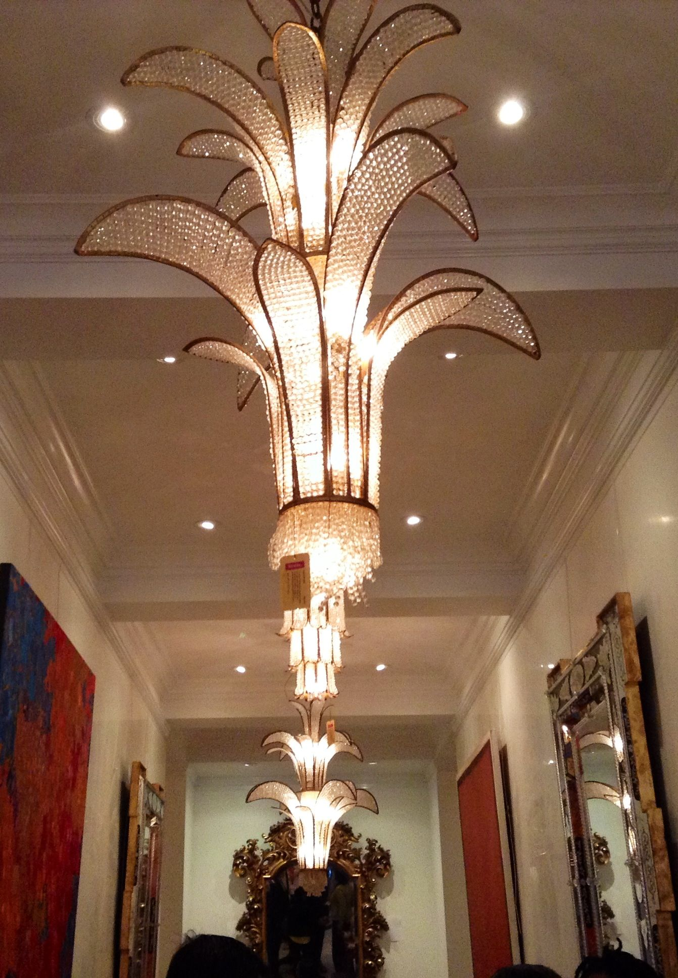 Antique chandeliers at Newell Antiques in NYC - Antique Chandeliers At Newell Antiques In NYC Lights Pinterest