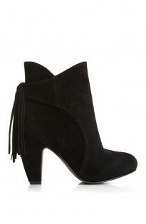 49a5e70cc4e ... plus size clothing at Fashion to Figure. Turner Faux Suede Fringe  Booties (Wide Width)