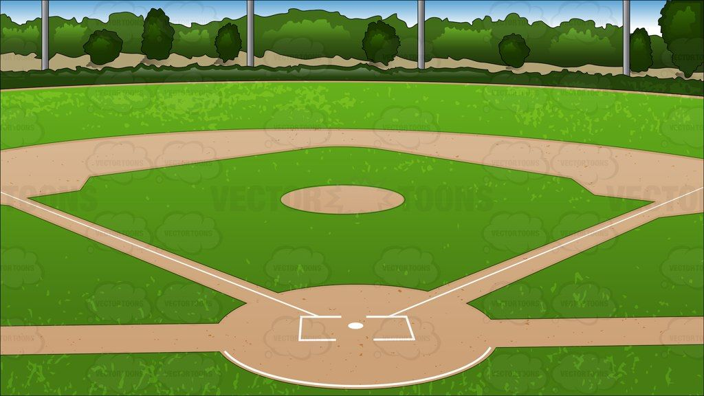 18+ Baseball field clipart free info