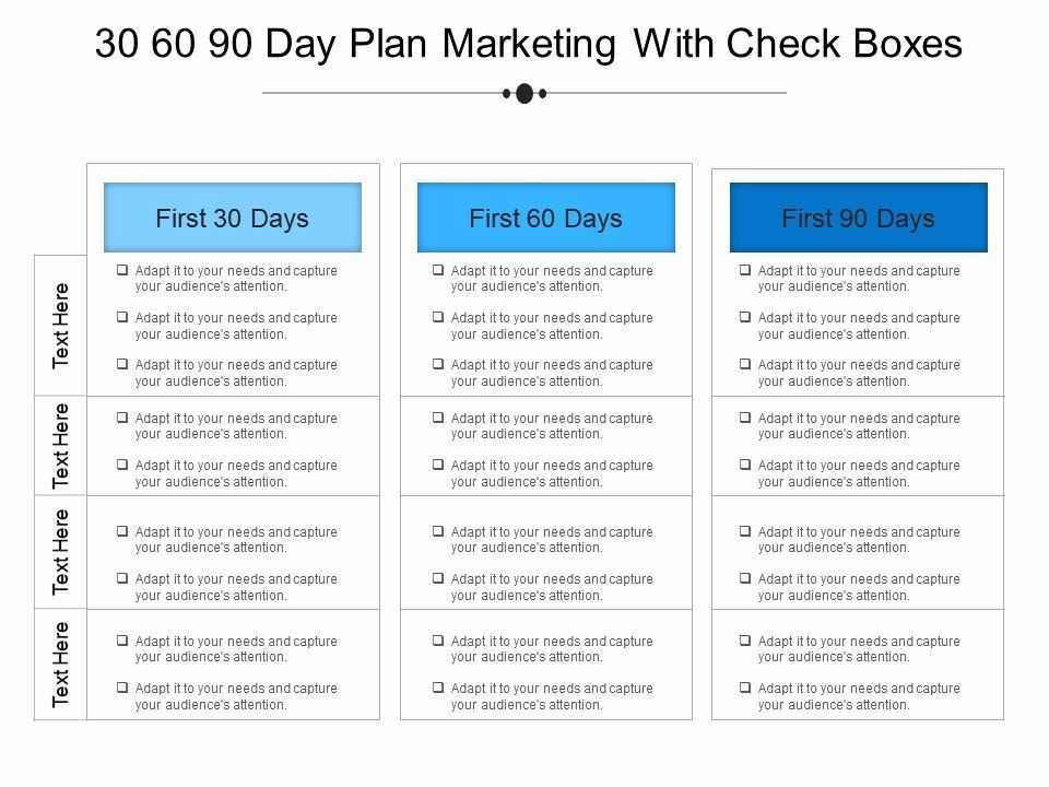 30 90 Day Onboarding Plan Template in 2020 (With images