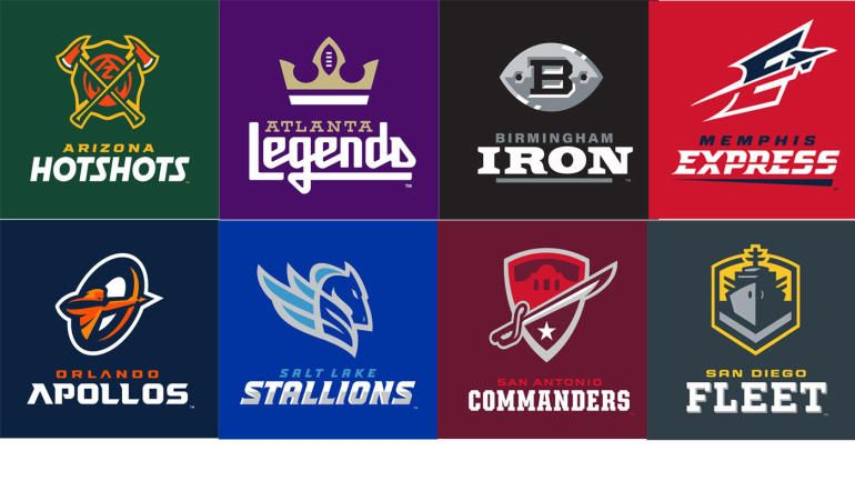 Look Here S A Full List Of Team Names And Logos From The Alliance