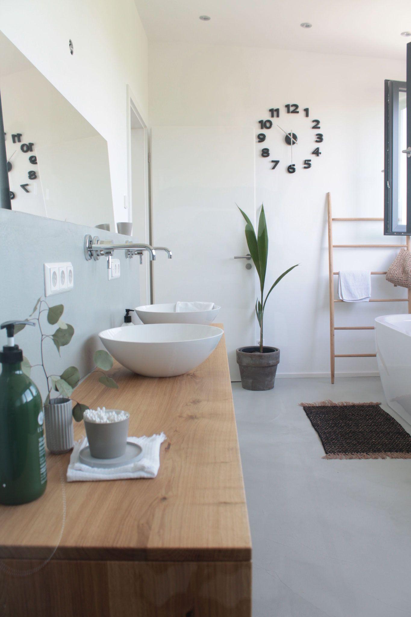 Fugenloses Badezimmer Koenigskram Webseite In 2020 Badezimmer Badezimmer Verputzen Badezimmer Trends