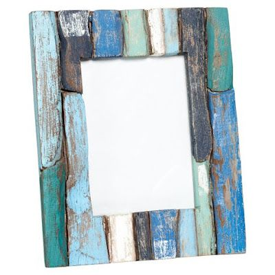 everything turquoise driftwood frames