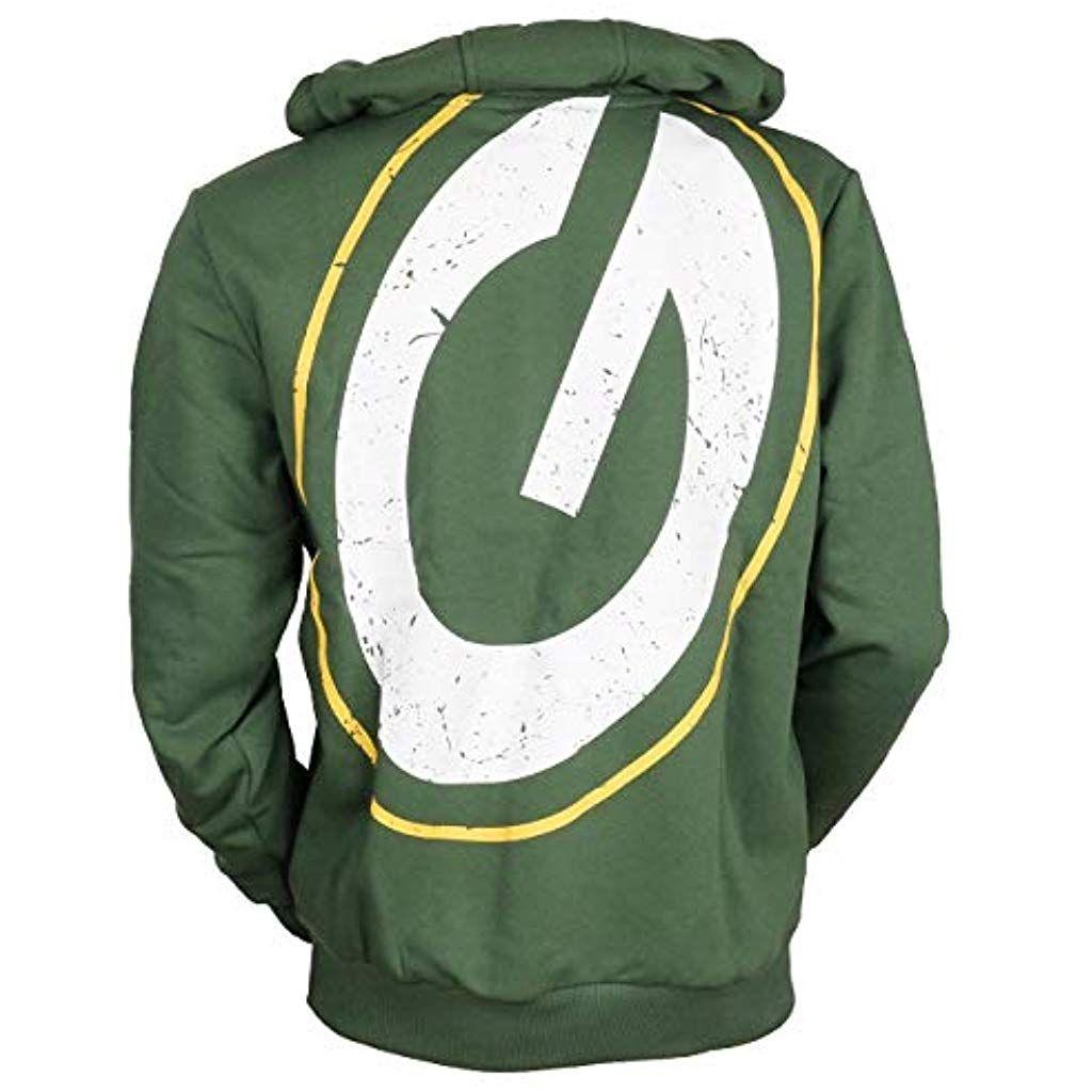 New Era Green bay Packers Hoody Big Logo Back Green 4XL