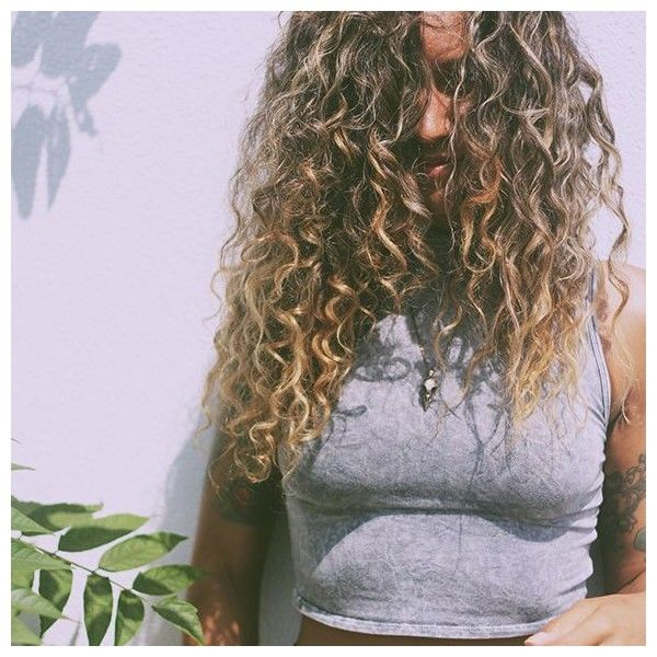 Natural Tips For Curly Hair ❤ liked on Polyvore featuring beauty products, haircare, hair and curly hair care