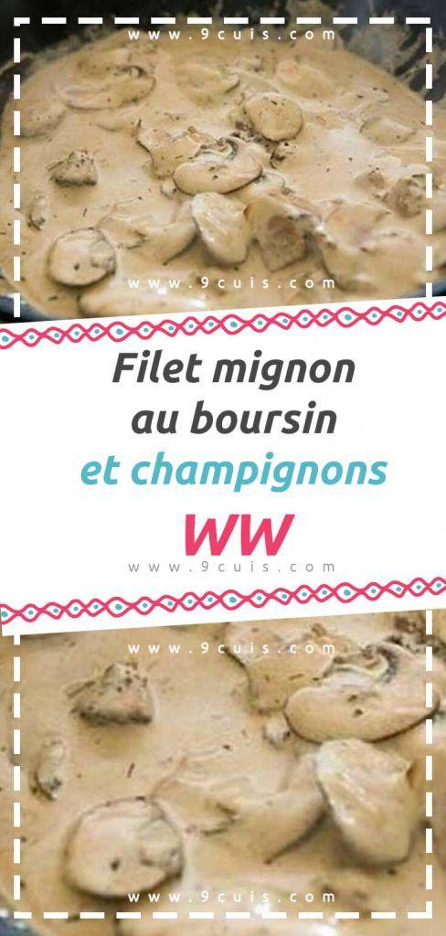 Filet Mignon Boursin Cookeo : filet, mignon, boursin, cookeo, Filet, Mignon, Boursin, Champignons, Cuisine, Sauce,, Mignon,