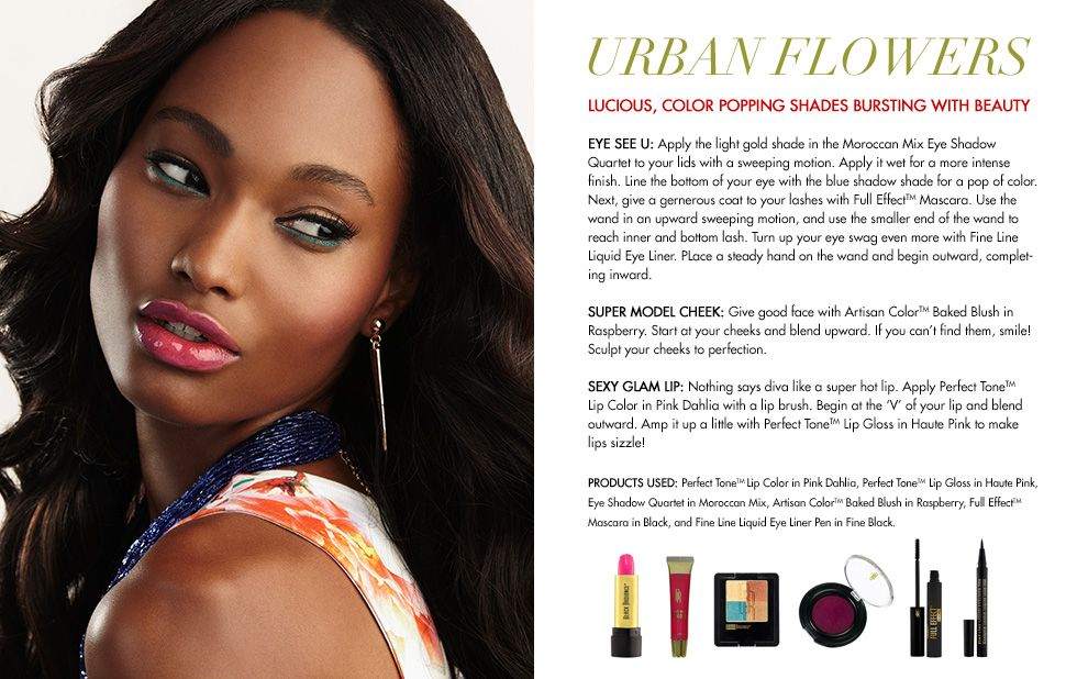 Black Radiance Cosmetics Urban Flowers I Feel Pretty Brown