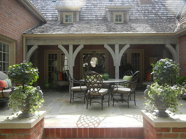 Love The Rustic Support Beams U0026 An Idea For Covered Deck Roofline??