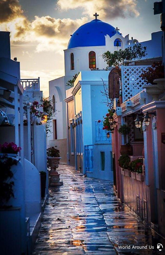 Santorini Greece سانتوريني اليونان Places Places To Go Vacation