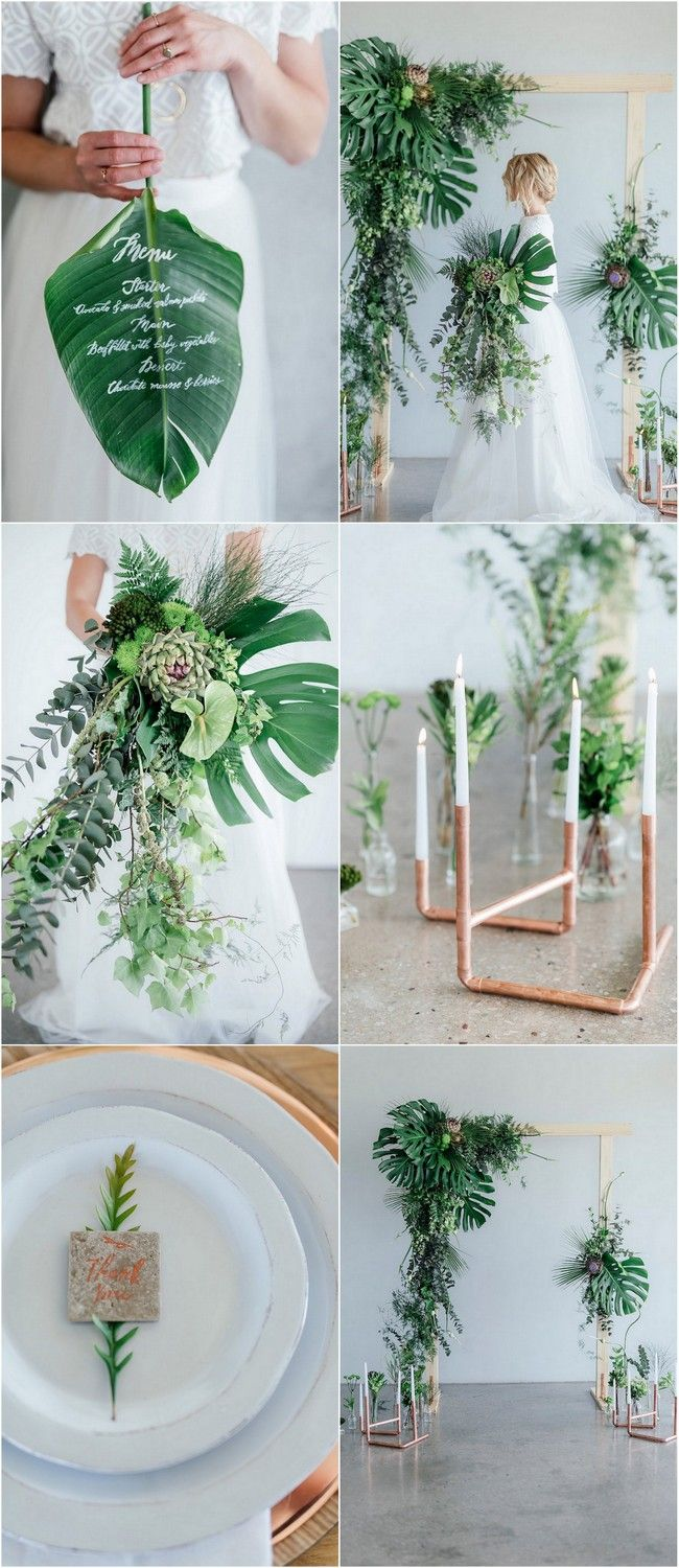 Gorgeously fresh greenery and copper wedding ideas greenery get loads of greenery copper wedding ideas plus lots of useful decor tips for junglespirit Images