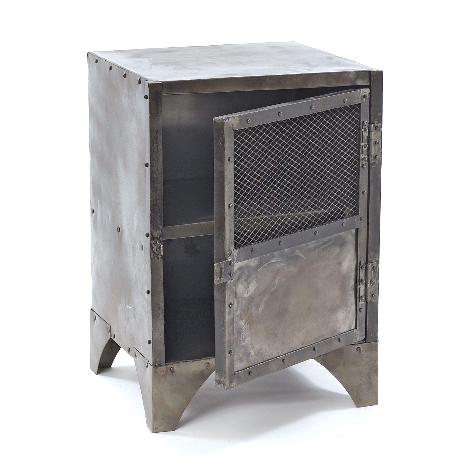 Rustic Steel Locker | dotandbo.com