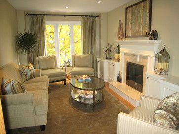 long narrow living room furniture arrangement | Long ...