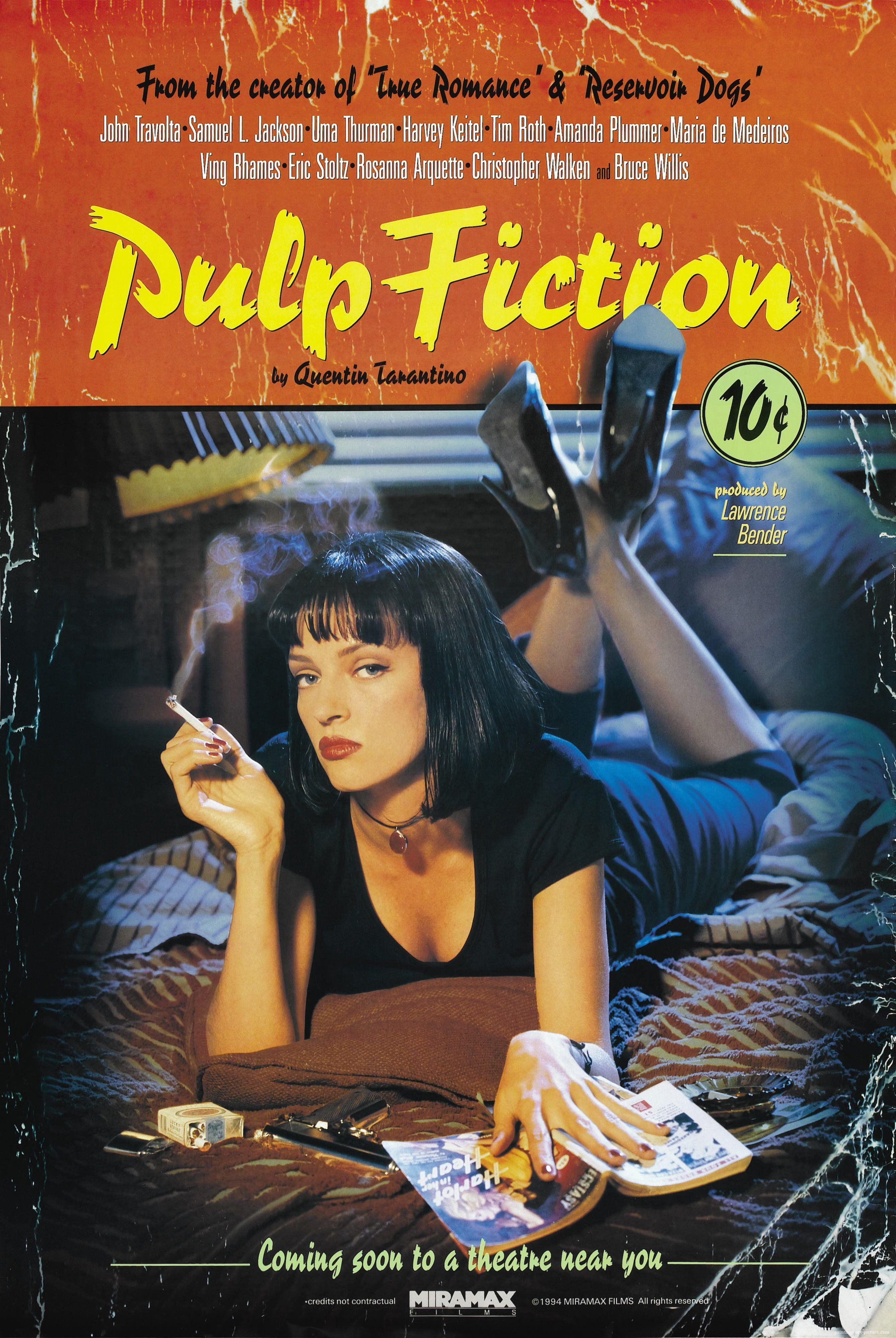 PULP FICTION   Vintage filmplakate, Gute filme, Pulp fiction