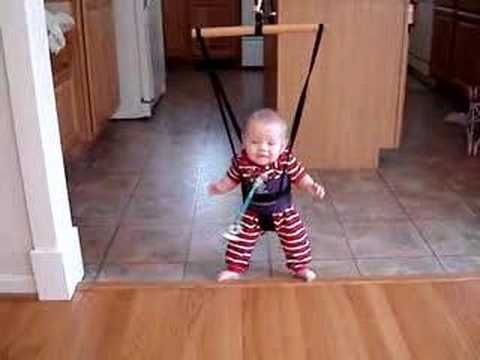 12f09844c62a baby bungee jumper - YouTube