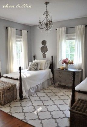 Love the twin beds in a guest room - Dear Lillie Dream Rooms in