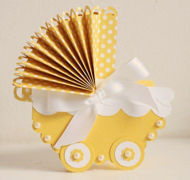 Vauvaonnittelut. Vaunu kortti.