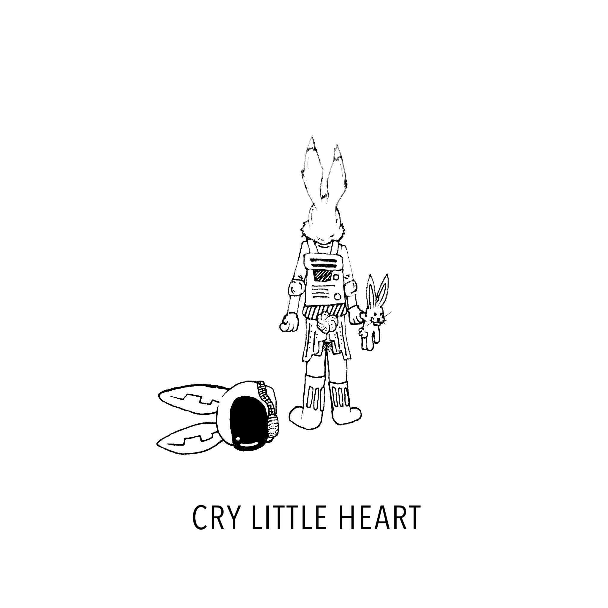 """This one inspired by """"Cry little heart - Stars and Rabbit"""""""