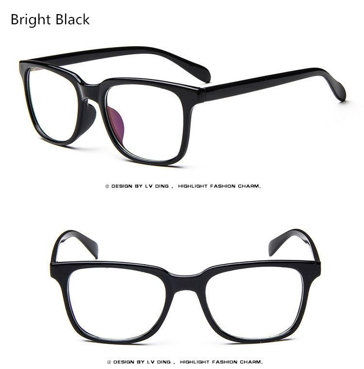 2017 Women Prescription Eyewear Trend Men Retro Clear Glasses Brand ...