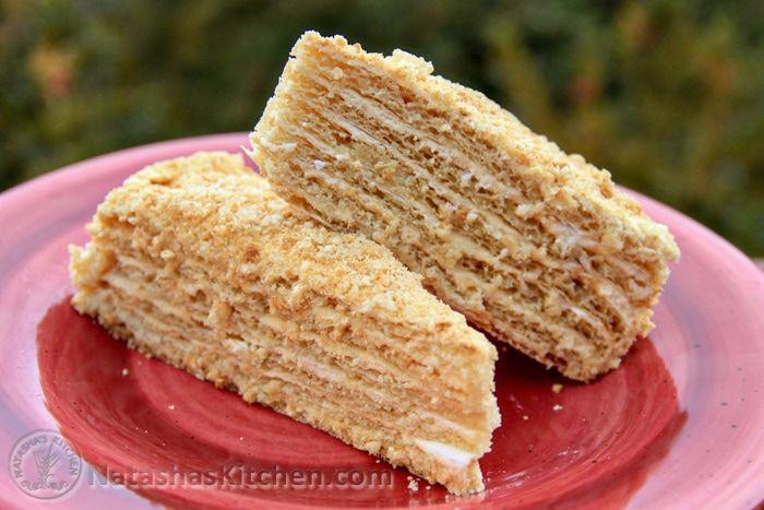 Mom's Spartak Cake Recipe #napoleonkuchenrussisch