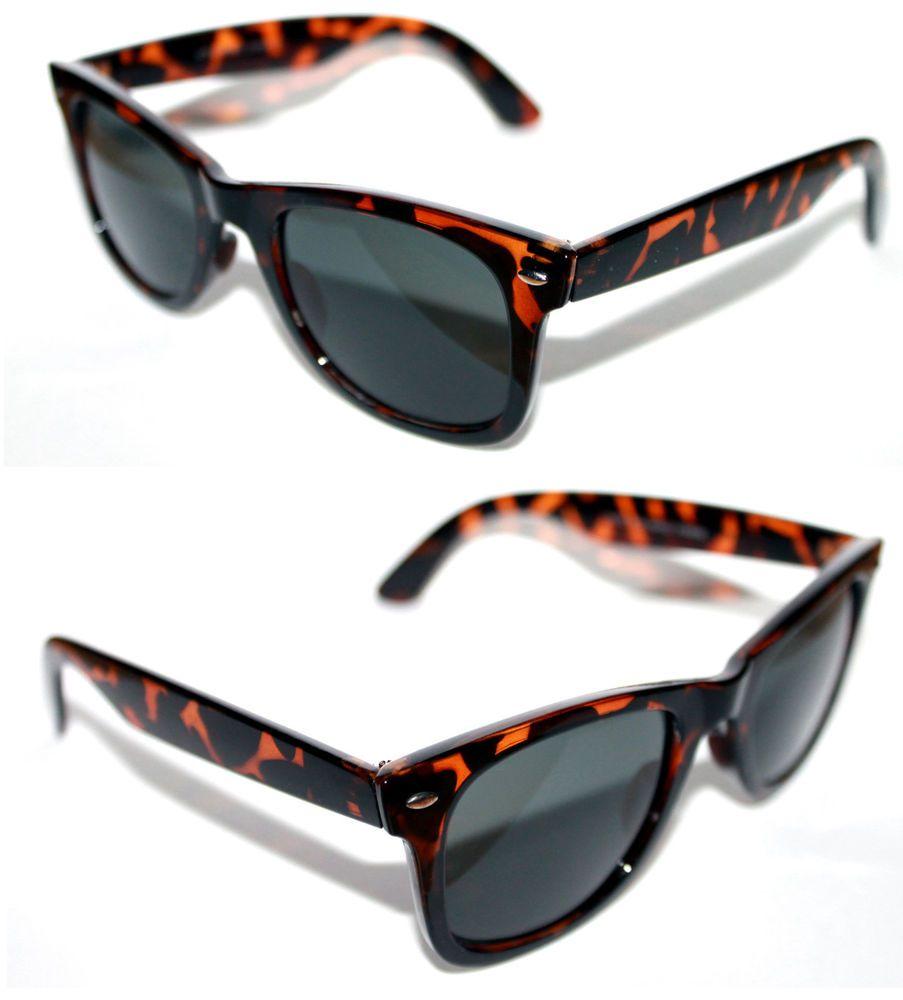 Men's Women's Horn Rimmed Sunglasses 50's 60's Soho Square