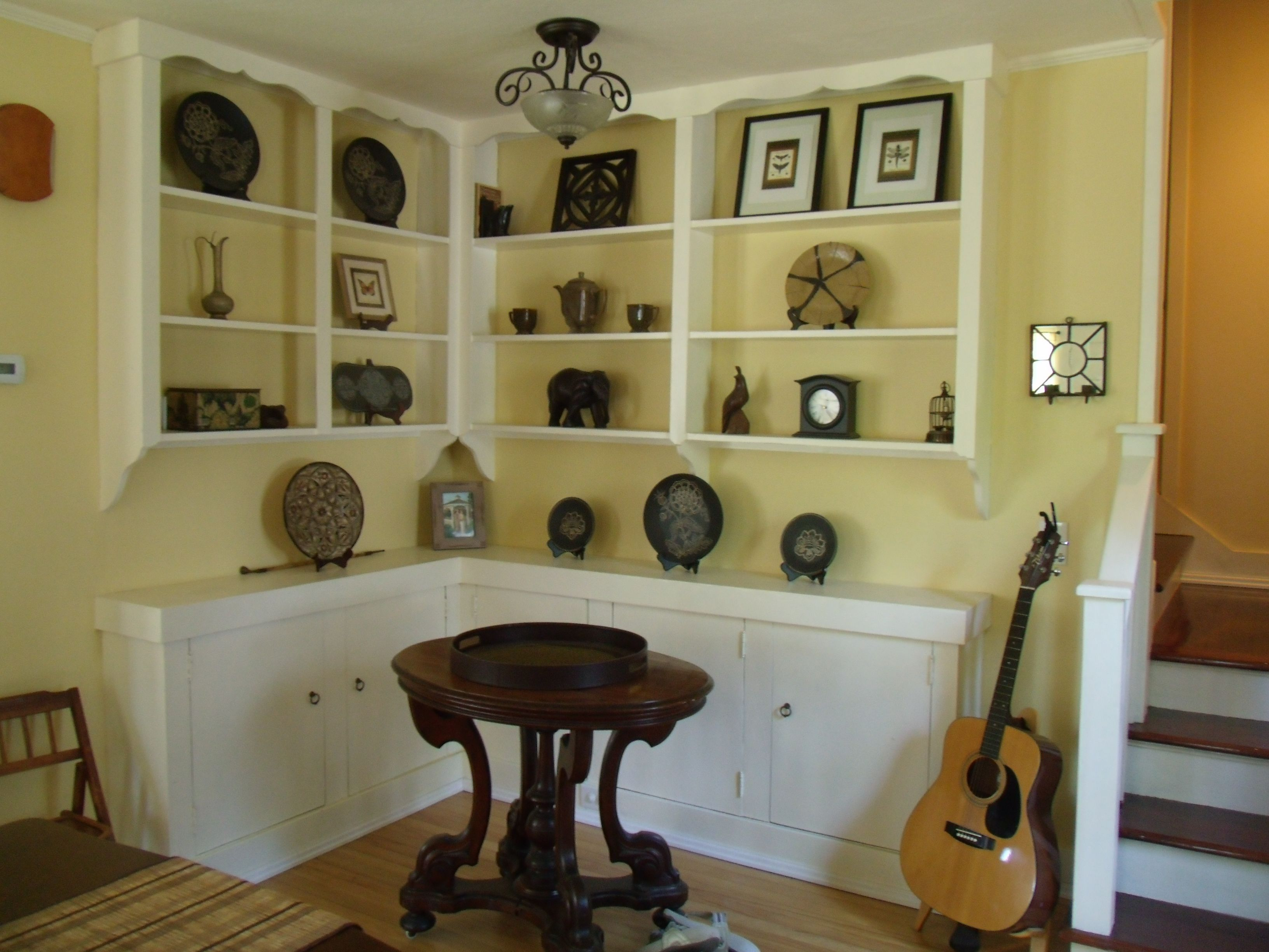 Dining Room Built In Corner Hutch