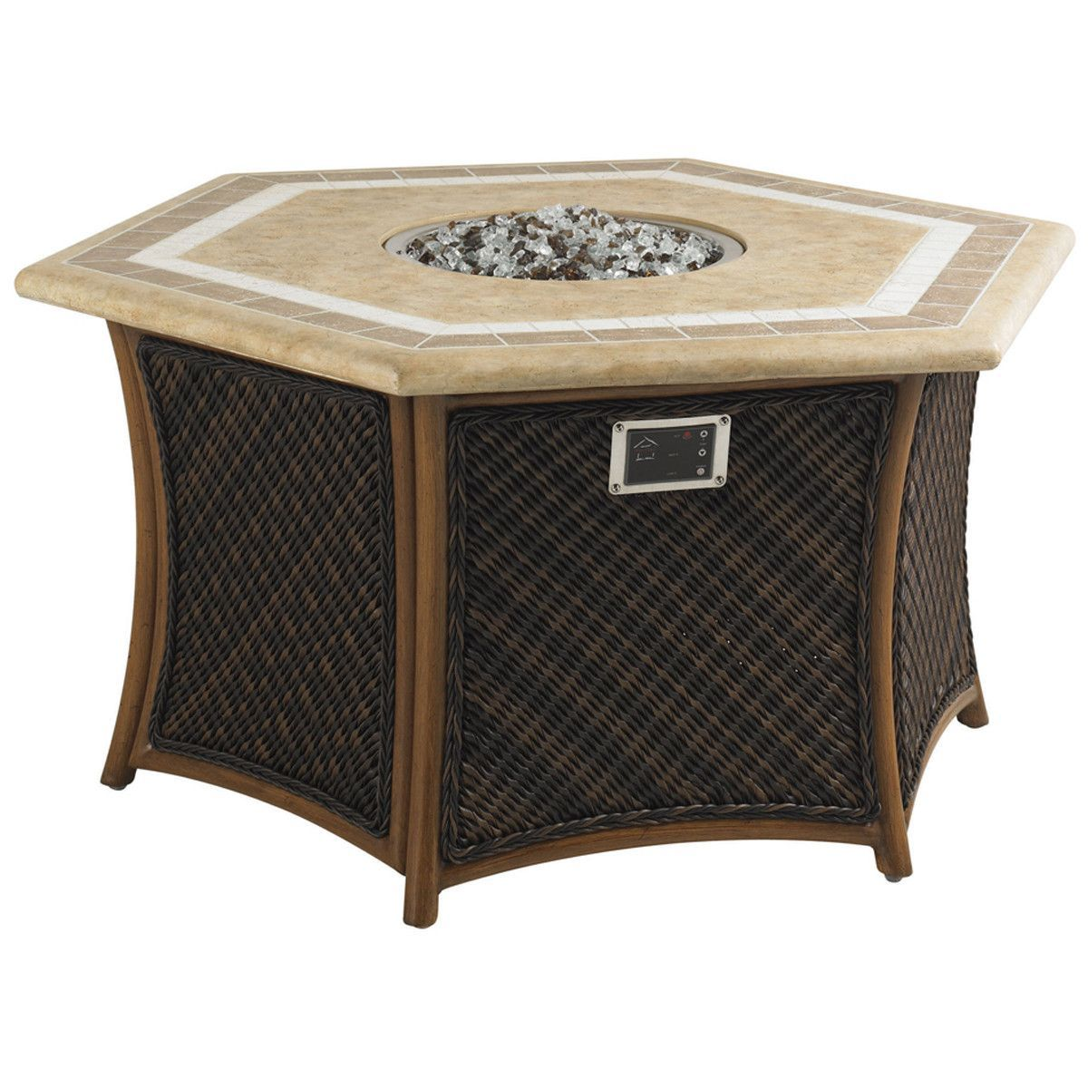 Tommy Bahama Island Estate Veranda Hexagonal Fire Pit